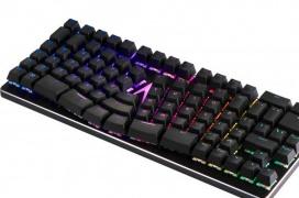 El Spire Ergo es el primer teclado mecánico TKL RGB ergonómico