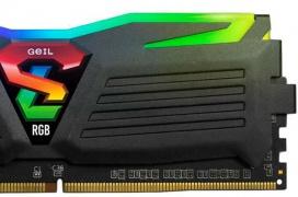 Hasta 4133 MHz ofrecen las memorias RAM Geil SUPER LUCE RGB
