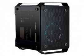 La X2 Spartan 716 es una caja de formato reducido con triple cristal templado y compatible con fuentes ATX
