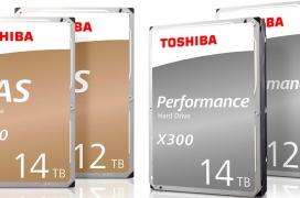 Nuevos HDD  N300 y X300 de Toshiba con hasta 14 TB de capacidad