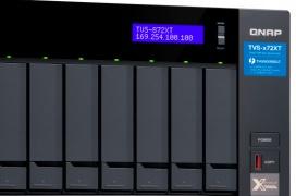 Conectividad Thunderbolt 3 y 10GBE en los nuevos NAS TVS-x72XT de QNAP