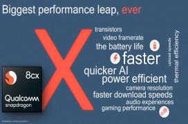 El Snapdragon 8cx de Qualcomm promete portátiles Windows con varios días de autonomía
