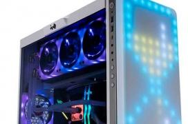 La In-Win 307 llega con una matriz de LEDs configurables que ocupa todo el frontal