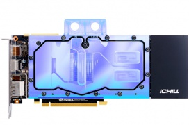 Inno3D anuncia los primeros bloques de refrigeración líquida para tarjetas gráficas NVIDIA RTX