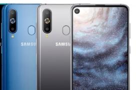 El Samsung Galaxy A8S ya es oficial con un agujero en la pantalla para la cámara frontal