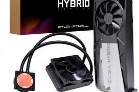EVGA lanza los kit de refrigeración líquida híbrida para las NVIDIA RTX