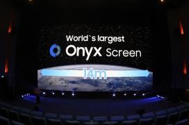 Samsung presume de la pantalla LED más grande del mundo con 14 metros de longitud