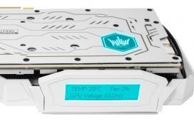 Color blanco, un LCD para monitorizar y 1.900 Euros en la nueva KFA2 RTX 2080 Ti HOF