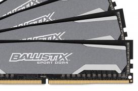 16 GB de memoria DDR4 Crucial Ballistix 2.400 MHz CL16 por 99,95 Euros
