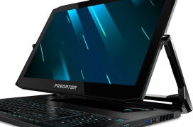 El convertible Gaming Acer Predator Triton 900 integra una Nvidia RTX 2080 para manejar su pantalla 4K