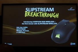 Corsair presenta su tecnología inalámbrica SLIPSTREAM para periféricos