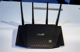 El router ASUS RT-AX58U estrena el chipset Intel Home WAV654 con WiFi 6 de 3.000 Mbps
