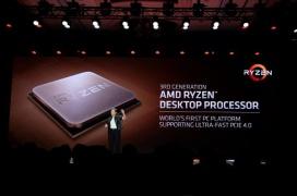 La tercera generación de AMD Ryzen supera en rendimiento al Intel Core i9-9900K con menor consumo