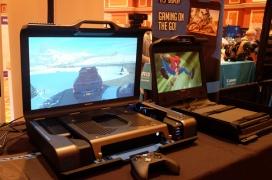 El GAEMS Guardian es una carcasa portátil para consolas y minipcs con una pantalla QHD y altavoces estéreo