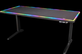 Thermaltake lanza su mesa Level 20 RGB Battlestation con elevación motorizada e iluminación RGB