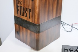 Así luce la caja con refrigeración pasiva para PC Monsterlabo The First