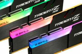 Este kit de 32 GB de memoria DDR4 G.SKILL Trident Z RGB a 3.466 MHz está optimizado para  AMD Threadripper
