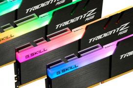 Este kit de 32 GB de memoria DDR4 G.SKILL Trident Z RGB a 3.466 MHz está optimizado para  AMD Threadripper