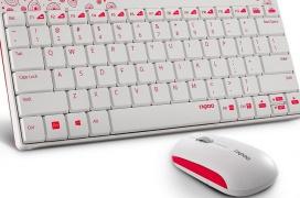 Él pack de teclado y ratón inalámbricos Rapoo 8000 prometen 1 año de autonomía