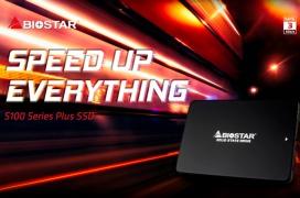 Biostar lanza sus unidades SSD económicas S100 Plus en capacidades de 240 y 480GB
