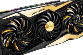 La MSI RTX 2080 Ti Lightning Z ya es oficial: Fibra de carbono, GPU seleccionada para overclock y pantalla OLED
