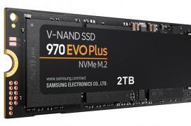 Samsung actualiza sus SSD NVMe 970 EVO con una versión Plus con memorias 3D de 96 capas hasta un 53% más rapidas