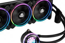La familia de Refrigeraciones Líquidas AiO Enermax LIQFUSION RGB ya tiene un modelo de 360 mm