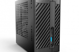 Con tan solo 1,9 litros, el ASRock DeskMini A300 es el primer PC mini-STX basado en la plataforma AMD A300