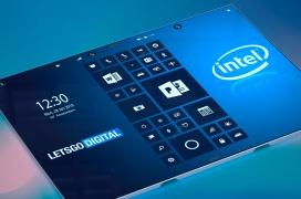 Se deja ver un asombroso diseño de Smartphone de triple pantalla plegable patentado por Intel
