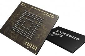 Samsung está empezando a fabricar chips eUFS de 1TB de capacidad para smartphones