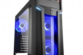 Sharkoon lanza las semitorres ATX VG6-W con RGB direccionable y panel acrílico