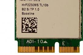 La tarjeta WiFi M.2 para portátiles Intel AX201 con conectividad WiFi 6 y Bluetooth 5 se deja ver en la FCC