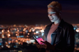 El Samsung Galaxy F hace acto de presencia en un video promocional filtrado de Samsung