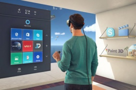 Se podrán ejecutar aplicaciones de escritorio en realidad con Windows Mixed Reality