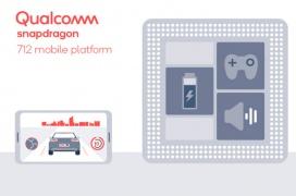 Qualcomm lanza el Snapdragon 712, un procesador ligeramente más potente que el 710 con carga rápida mejorada