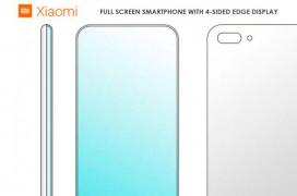 Xiaomi patenta un diseño de smartphone con pantalla curvada en ambos laterales, arriba, abajo y esquinas