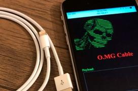 El O.MG Cable incorpora un controlador WiFi y permite atacar cualquier dispositivo conectado a él