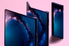 Una única pantalla plegable y 5G en el sorprendente Huawei Mate X