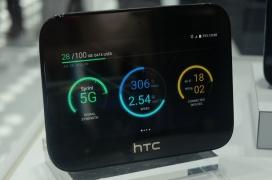 El HTC 5G hub es un dispositivo que hace de tablet y punto de acceso 5G