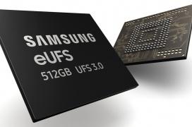 Samsung comienza la producción en masa de los primeros chips eUFS 3.0