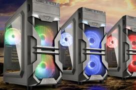 Sharkoon lanza su semitorre gaming VG7-W con iluminación y controlador ARGB por 54,90 Euros