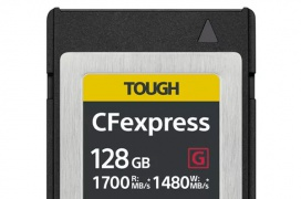 Las últimas tarjetas de memoria Compact Flash Express de Sony alcanzan los 1700MB/s