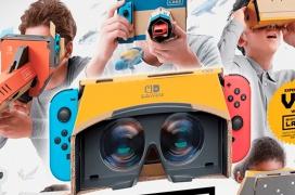 La Nintendo Switch ya tiene sus propias gafas de Realidad Virtual, aunque son de cartón