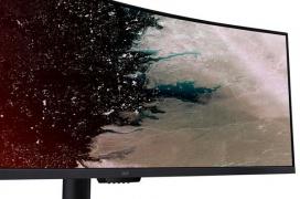 El monitor AcerEI491CR llega en formato 32:9 con HDR400 y hasta 144 Hz