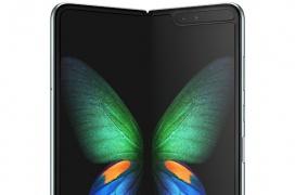 Un video del Samsung Galaxy Fold muestra el pliegue de la pantalla visiblemente notable