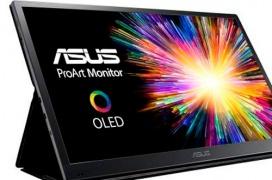 El ASUS ProArt PQ22UC es un monitor OLED 4K en formato portable que cuesta más de 5.100 Euros