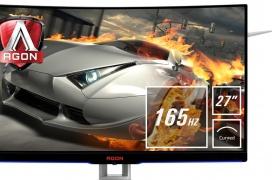 FreeSync, 165 Hz en Full HD y panel MVA en el nuevo AOC Agon AG272FCX6 curvo de 27 pulgadas