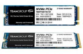 Hasta 3000 MB/s de velocidad en la nueva unidad SSD M.2 NVMe MP34 de TeamGroup