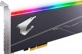 Gigabyte lanza su SSD AORUS RGB AIC NVMe en formato de tarjeta PCIe con hasta 3.480 MB/s