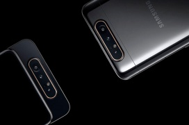 El Samsung Galaxy A80 llega con una cámara triple desplegable con mecanismo giratorio